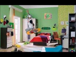 Интерьер детской комнаты для мальчика с фотообоями