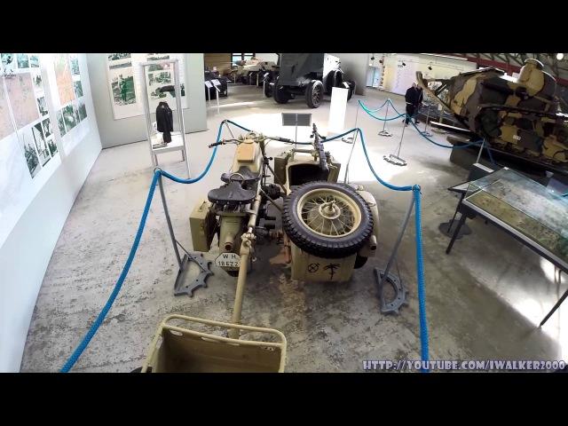 Путевые Заметки Германия сентябрь 2015 Немецкий Музей Бронетанковой техники в Мюнстере часть 1