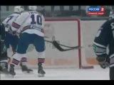 Хоккей. Динамо - СКА 4:3 Обзор матча