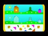 Развивающие упражнения(игры) для детей.3-4 лет выпуск№3