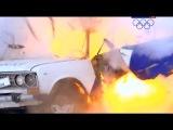 Что будет если взорвать гранату в автомобиле