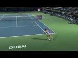 Simona Halep 2015 Dubai Duty Free Tennis Championships Hot Shot