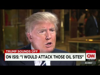 Donald Trump On Isis I Would Take Away The Oil