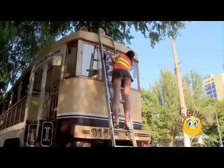 [18+] BEST CRAZY TOO Sexy Funny Pranks = NEW NAKED & FUNNY = Hot Window Cleaner Prank