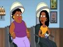 черная ретроспективная женщина