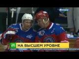 Путин в день рождения забросил семь шайб и принес победу Звездам НХЛ