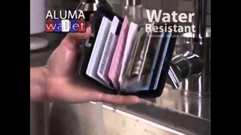 Алюминиевый кошелек-визитница Aluma Wallet (Мультикард)