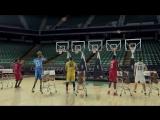 Баскетболисты NBA бросками в кольцо исполнили рождественскую мелодию