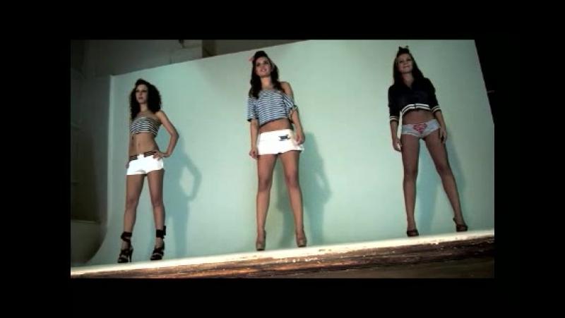 Секс на съемках клипа Три девченки отжигают