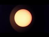 Солнце в телескоп рефрактор 50 крат