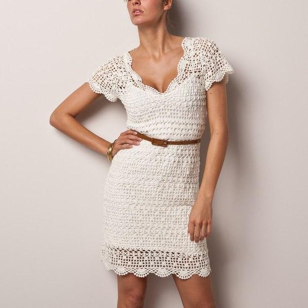Филейный жемчуг - платье Top