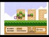 Kirby's Adventure (NES) SpeedRun -Level 1- Vegetable Valley