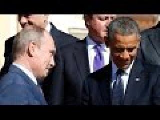 Путин убрал дерзкую ухмылку у Обамы ! + Жестко ответил журналисту США