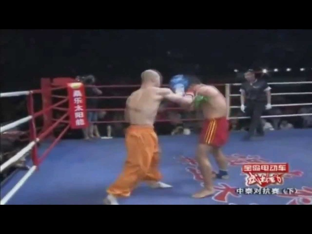 Шаолиньский монах Yi Long против боксеров и других ударников