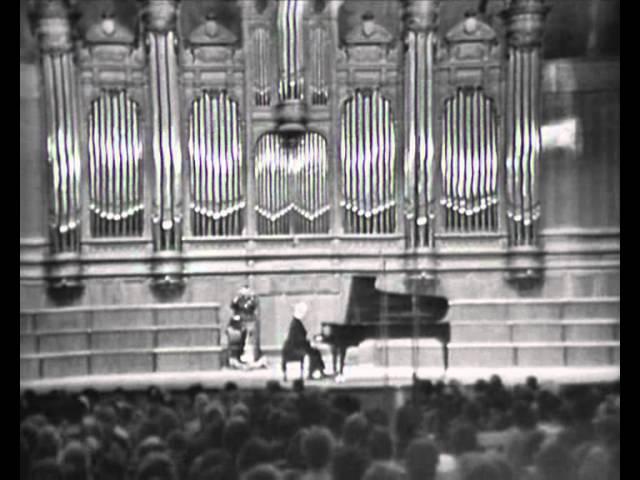 Artur Rubinstein in Moscow FULL