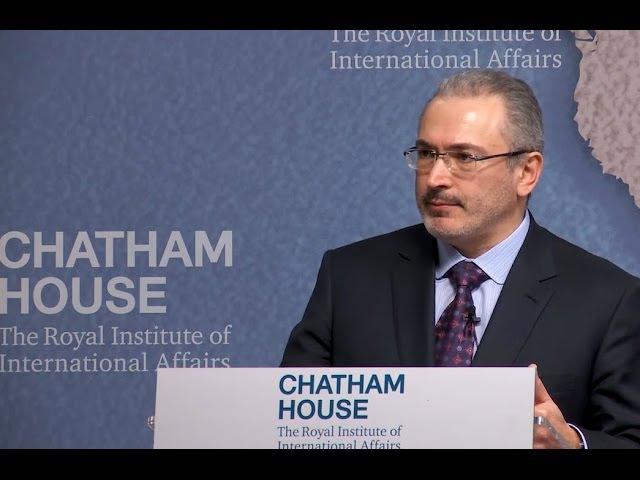 Михаил Ходорковский: Путин - голый король