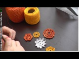 КРЮЧОК / ВЯЗАНИЕ крючком цветка - Как связать крючком красивый цветочек