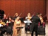 Вероника Джиоева (сопрано) Новосибирская филармония  G. Caccini - Ave Maria  Дж. Каччини - Аве Мария
