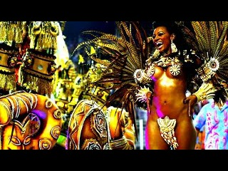 Рио де Жанейро карнавал зажигательная латинская музыка и танцы
