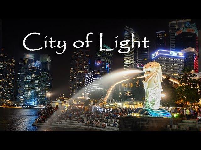 Timelapse - Singapore, City of Light (in 4K! UltraHD)