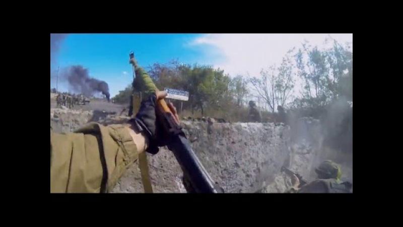 Ukraine War - Ukrainian Paramilitary In Heavy Combat Action In The Battle For Ilovaisk