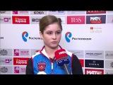 2015-12-25 - Чемпионат России | Юлия ЛИПНИЦКАЯ после Короткой программы