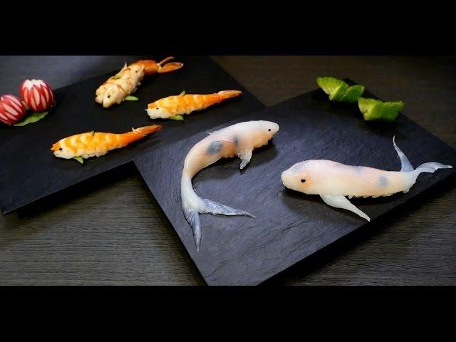 Koi fish sushi コイ寿司 Суши