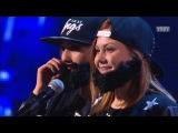 Танцы: Дуэт  Бородач  (MC Doni Feat. Тимати - Борода)(сезон 2, серия 8) 11.10.2015