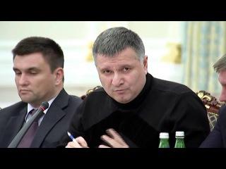 Аваков облил Саакашвили водой  - ПОЛНОЕ ВИДЕО