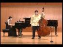 Giovanni Bottesini Fantasia on Bellini's La Sonnambula Contrabass HyungJu Kim