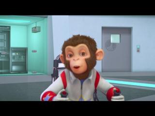 Мартышки в космосе.Ответный удар 3D
