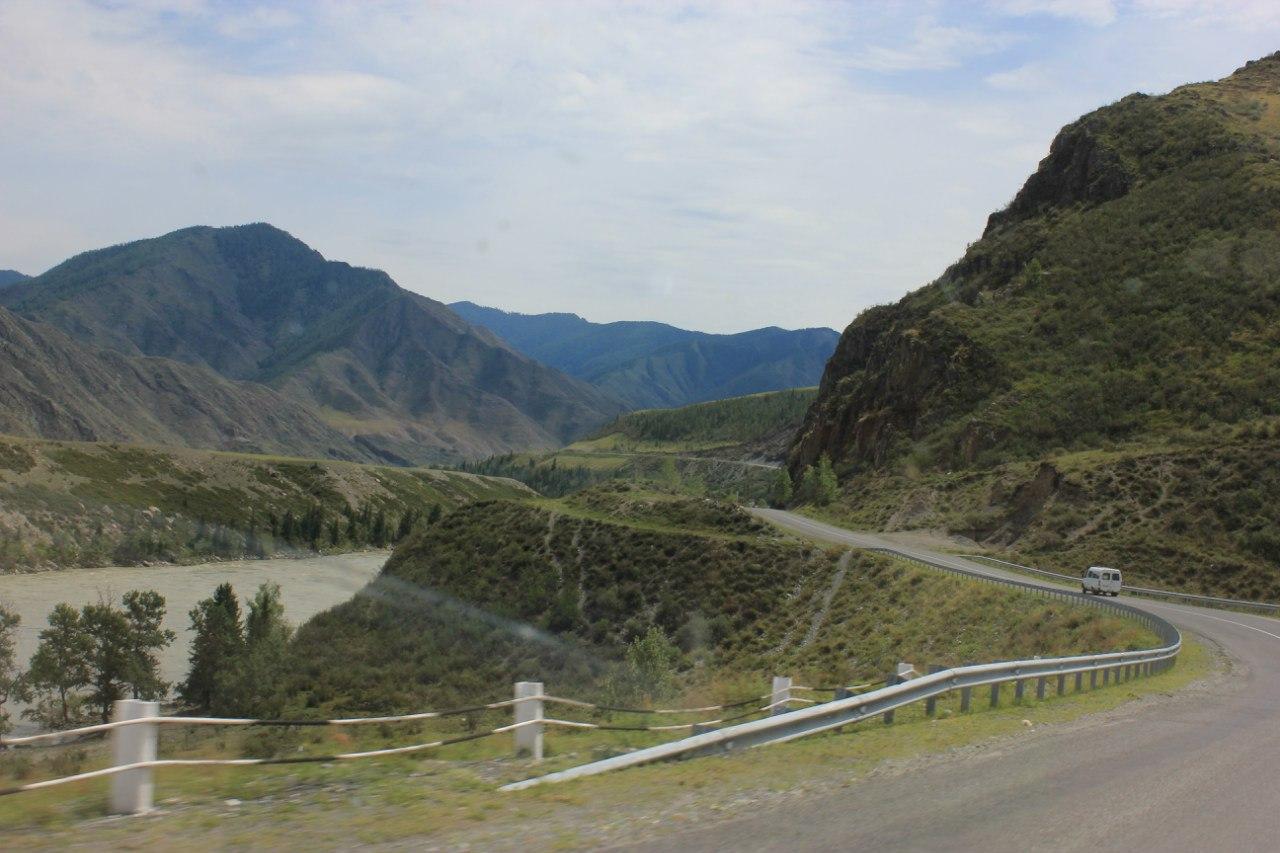путь до долины реки Чулышман