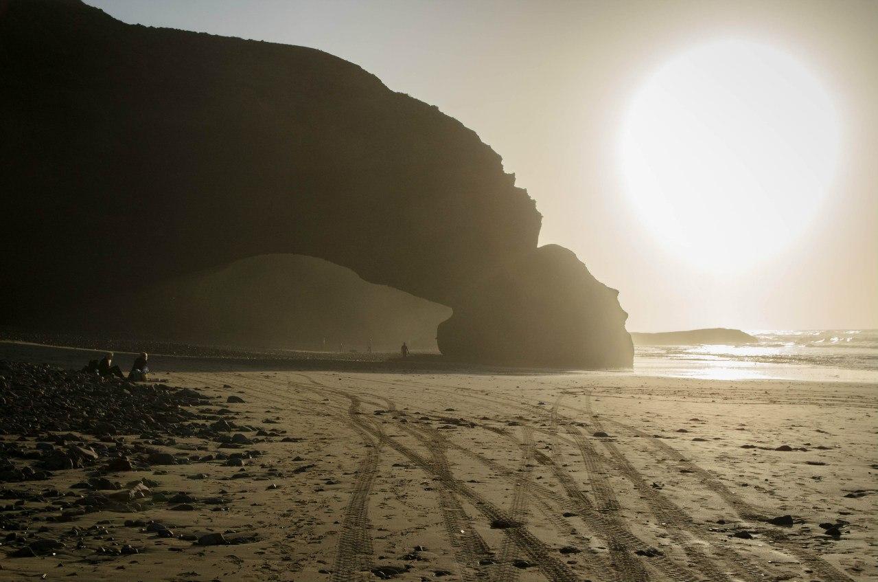 Пляж Легзира в Марокко