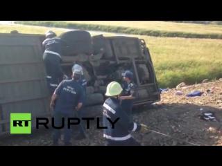 ✔ ОСОБОЕ МНЕНИЕ: Опубликовано первое видео с места крупного ДТП под Хабаровском