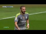 Эспаньол 0:4 Реал Мадрид | Гол Бензема