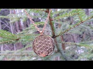 Цветок Жизни кулон мандала оберег амулет талисман сакральная геометрия золотое сечение. Раскрыта древняя тайна ! Способствует м
