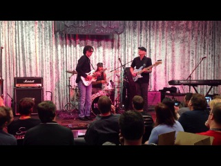 Jam session with Steve Vai, Billy Sheehan and Paul Pechak