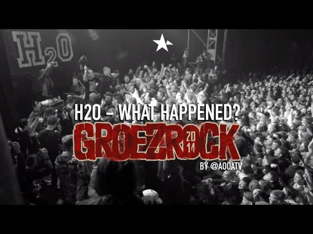 H2O - What Happened ft. Matt Skiba (Live at GROEZROCK 2014 by @aooatv)