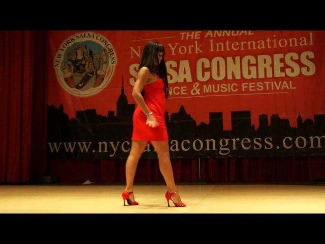 Eddie Torres Griselle Ponce workshop salsa on2 shines part1 @ NY Salsa Congress 2011