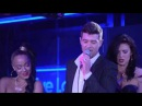 Robin Thicke Blurred Lines in the Live Lounge