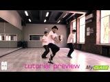 MYCLASS The Weeknd - I Can't Feel My Face hip-hop tutorial by Maxim Kovtun - Dance Centre Myway