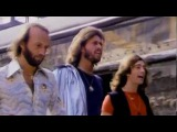 Bee Gees - Stayin' Alive HQ 1rst Version Music Video 1977 (NO FAKE HQ) + LYRICS