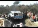 Гонки по бездорожью на больших грузовиках