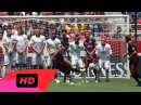 Manchester United vs Barcelona 3 1 - Luis Suarez Free Kick Miss International Cup 2015