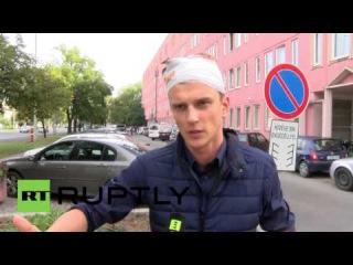 Венгрия: Польский журналист говорит после ареста Венгерскими полиции.