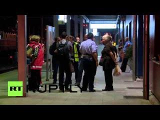Словения: Полиция вернутся 150 беженцев на поезде из Хорватии.