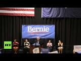 США: Берни Сандерс митинги в Южной Каролине.