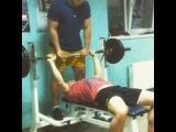 Vlad Starenky. Bench press 115 kg