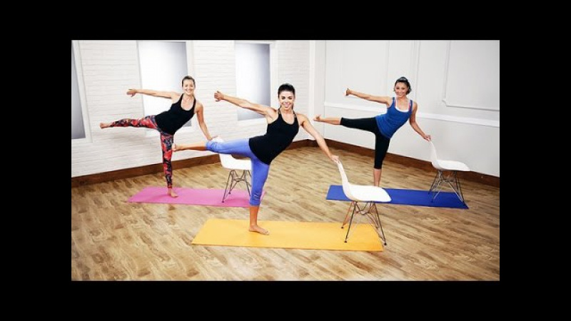 21-Day Summer Shape-Up Challenge - Day 17 Video 1: Cardio Barre Workout - POPSUGAR Fitness