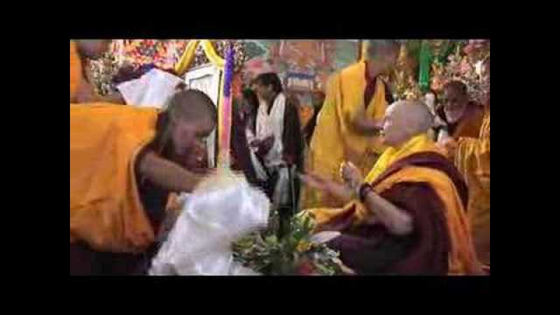 H.H. Gyalwang Drukpa's enthronement of Tenzin Palmo (Part 1)